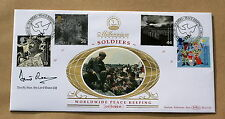 SOLDIERS' TALE 1999 BENHAM FDC SIGNED BY THE POLITICIAN LORD DAVID OWEN