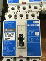 Cutler-Hammer ED3100 Circuit Breaker ED 65k 3P 100A 240VAC 125VDC