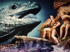 VICTOR MATURE & CAROLE LANDIS / ONE MILLION BC /  8 X 10  COLOR  PHOTO