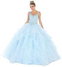 SWEET 16 PARTY BEAUTY PAGEANT FORMAL BALL DESIGNER GOWNS MASQUERADE PROM DRESSES