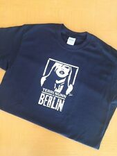 BERLIN TERRI NUNN FACE BLACK SHORT SLEEVE T-SHIRT autographed