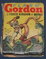Flash Gordon In The Forest Kingdom Of Mongo Big Little Book #1492 Alex Raymond