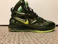 NIKE AIR ZOOM HYPERPOSITE 2 BASKETBALL SHOES MEN SIZE 13 GREEN