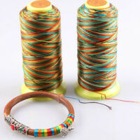 1 Roll 550m Braided Thread Cord String for DIY Jewelry Bracelet Beading 1mm