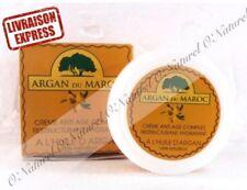 X2 Crème à l'Huile d'Argan Q.BIO 100% Naturelle 100ml, Argan Cream ANTI-RIDES