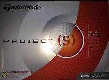 3 Dozen TaylorMade Project (s) Golf Balls