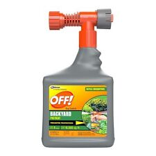Off Bug Control Backyard Protection Mosquitoes Insect Killer Fast 32oz
