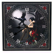 Fantasy Design Dark Angel with Raven Wall Clock. Purchase 3 get 4th free