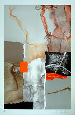 "GLASS and FRAME 32W/""x32H/"" IMPROVISATION STUDY by WASSILY KANDINSKY DOUBLE MATTE"