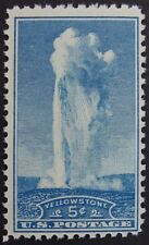 Stamp US, Cat. #744, 5c Yellowstone, (1934), Mint NH/OG