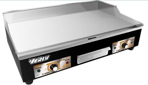 New Double Burner Commercial Kitchen Electric Flat Griddle 73cm Large