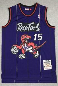 15# Vince Carter Toronto Raptors 1998-99 Classics Men's Swingman Jersey Purple