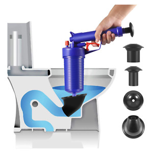 Drain Blaster Plunger Buster Toilet Sink Blockage Remover Air Sucker Unblocker