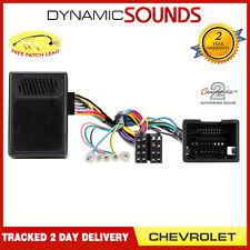 CTHCV01 Volant de Voiture & Reverse Capteur Interface pour Chevrolet Aveo