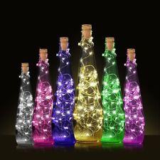 20 LED Cork Shaped Night Light Starry Lights Wine Bottle Lamp For Wedding Party