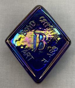 Boyd Art Glass Cobalt Carnival Logo