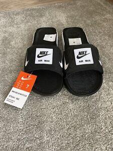 "Nike Air Max 90 Sliders Black/White"" Women Beach Shoes Uk4.5/eur38"