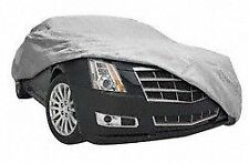 """Strong Elastic Hem All Elements Car Cover Gray Durable Fits Sedans Up To 16' 8"""""""