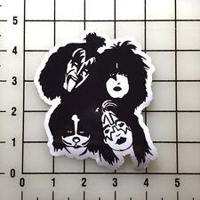 "Kiss Members 4"" Wide Vinyl Decal Sticker BOGO"