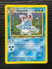 Azumarill 1st Edition Holographic Pokémon Card Neo Genesis 2/111