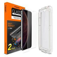 [2 PK] iPhone X/XS,XS MAX,XR Screen Protector Sensor [Glas.tR] Spigen®EZ FIT