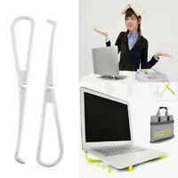 Adjustable Invisible Portable Folding Holder Laptop Stand for MacBook Pro/Air