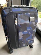 Original TUMI Koffer blau camouflage Koffer für eine Kurzreise - Modell Merge