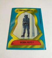 1980 Topps Star Wars: The Empire Strikes Back Stickers Boba Fett #57 Rare