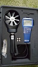 TSI 5725 VelociCalc Rotating Vane Anemometer and TSI Air Cone Kit 801749