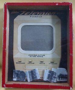 Vintage The Television Dexterity Puzzle by R Journet London