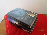 3 Taschenbücher - 2 Romane + 1 Buch mit Erlebnisberichten, von 2005-2007  /S88