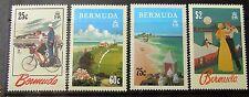 Bermuda Tourism Posters Commemorative set. 1993 MNH. Superb