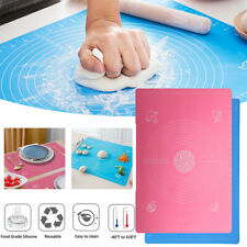 25*17 in Large Silicone Non-stick Baking Mat Rolling Dough Pad Pastry Fondant US
