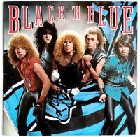 EX/EX Black N Blue Iconic Debut Vinyl LP Guns N Roses Black Crowes Hard Rock