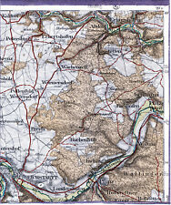 Eichstätt Erlingshofen Pfalzpaint 1916 orig. Teilkarte/Ln. Inching Pollenfeld EI