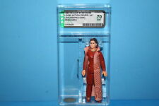 VINTAGE STAR WARS AFA GRADED LEIA BESPIN CREW 70EX 80 HK FIGURE WEAPON KENNER FV