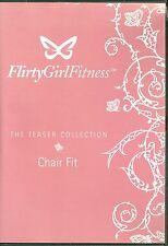 New Flirty Fitness Booty Beat Chair Dance DVD Workout Exercise Teaser Collection