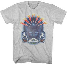 Journey-Alien Head-X-Large Heather Grey T-shirt