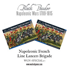 Black Powder - Napoleonic French Line Lancers Brigade - New