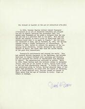 DAVID B. DAVIS - TYPESCRIPT SIGNED