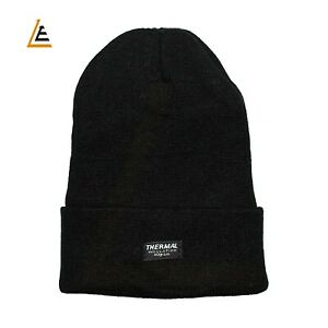 New Unique UNISEX - Adult Thermal Insulation 40 gram Warm Knitted BEANIE CAP/HAT