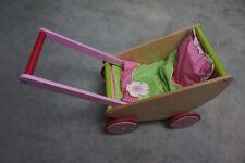 HABA Puppenwagen Kirschblüte,ab 12 Monate,Holz
