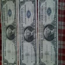 (100) Us Currency Paper Money Bill Protector Sleeves For Large Older Bills By Ne
