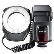 walimex Ringblitz / Makroblitz ideal für Makrofotografie, inkl. Objektivadapter