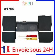 """A1705 OEM Batterie MacBook RETINA 12"""" A1534 2016 7,5V 41,4Wh 5474mAh garanti 1an"""