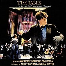 An American Composer in Concert (CD) Tim Janis Alice Tully Hall