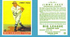 1933 Goudey Reprint #29 (Jimmy) Jimmie Foxx Card - Philadelphia Athletics