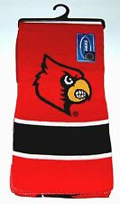 Official Louisville Cardinals College Football Basketball Neck Scarf Throw Wrap