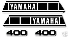YAMAHA 1979 YZ400 COMPLETE DECAL GRAPHIC KIT