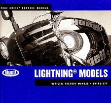2007 BUELL LIGHTNING MOTORCYCLE SERVICE MANUAL -XB9SX-XB12S-XB12Scg-XB12Ss